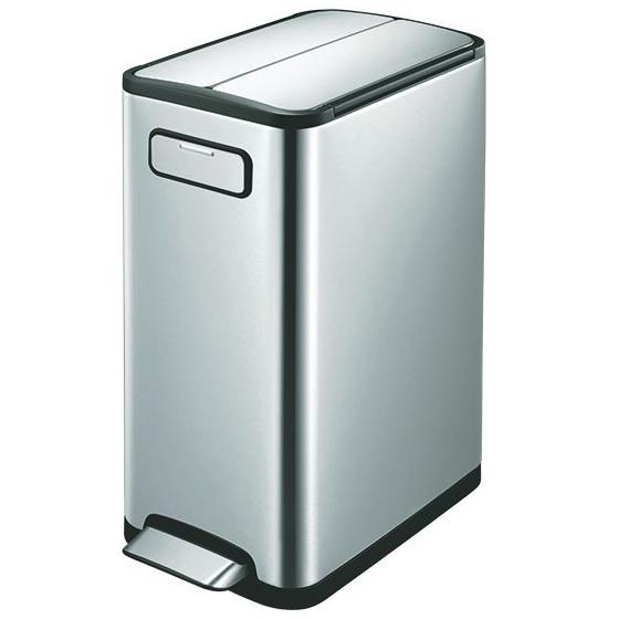 キッチンカウンターの下にも置きやすい大人気のゴミ箱♪ EKO エコフライ ステップビン EK9377MT-20L+20L