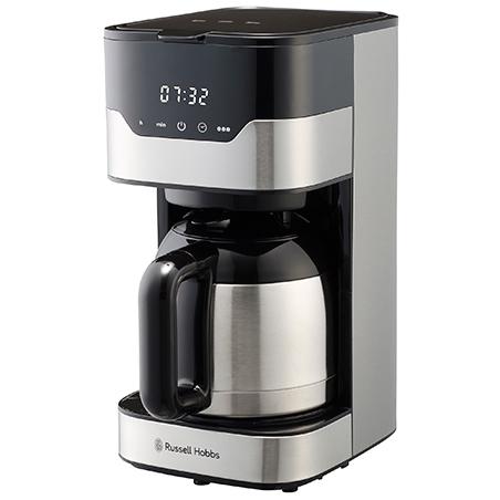 大容量なのに程よくスマート タッチパネル式コーヒーメーカー Russell Hobbs ラッセルホブス 8カップ コーヒーメーカー グランドリップ 2020A 卓出 W新作送料無料 7653JP