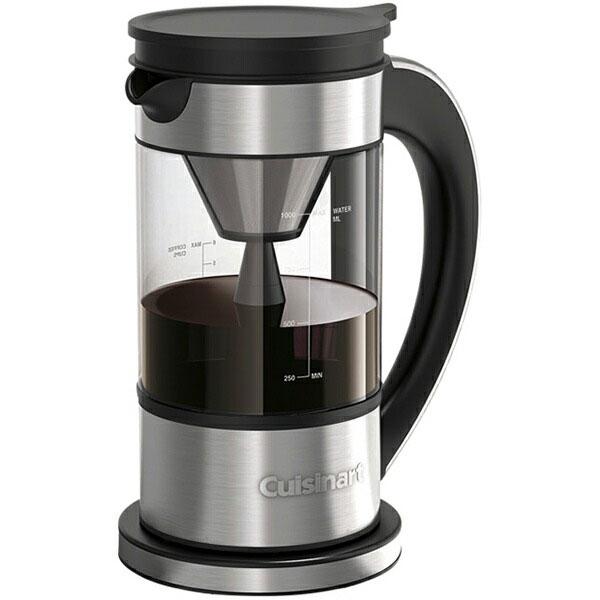 まるで噴水のようなドリップ 安心の実績 高価 本物◆ 買取 強化中 自分好みにカスタマイズできる新感覚コーヒーメーカー Cuisinart クイジナート ファウンテン FCC-1KJ コーヒーメーカー