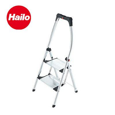 Hailo ハイロ リビングステップアルミ ※折りたたみ脚立(きゃたつ) 2段 60067