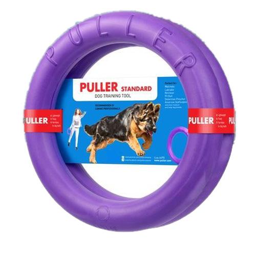 欧米で大人気のドーナッツ型ドッグトレーニング玩具 プラー スタンダード 大 買物 ドッグトレーニング玩具 PULLER 新作からSALEアイテム等お得な商品 満載 犬のおもちゃ 大型犬 Standard