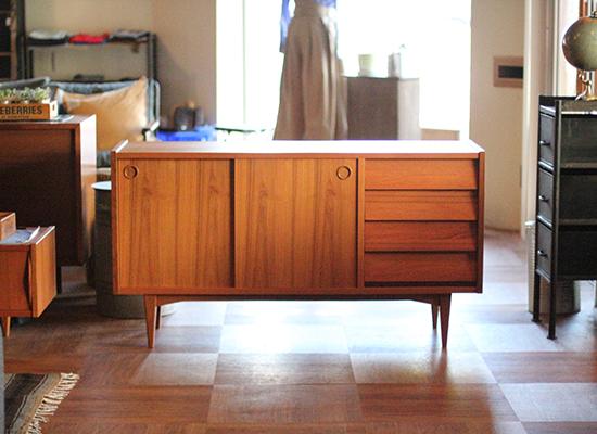 ワンリトルデザインOLH SIDE BOARD/北欧家具に合う