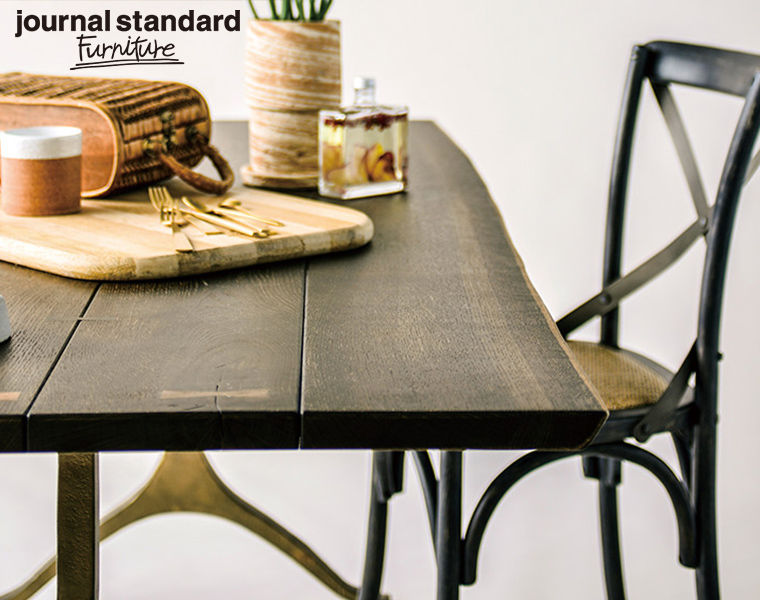 journal standard Furniture ジャーナルスタンダードファニチャー 家具 NEXA DINING TABLE SEARED OAK /ネクサ ダイニングテーブル オーク