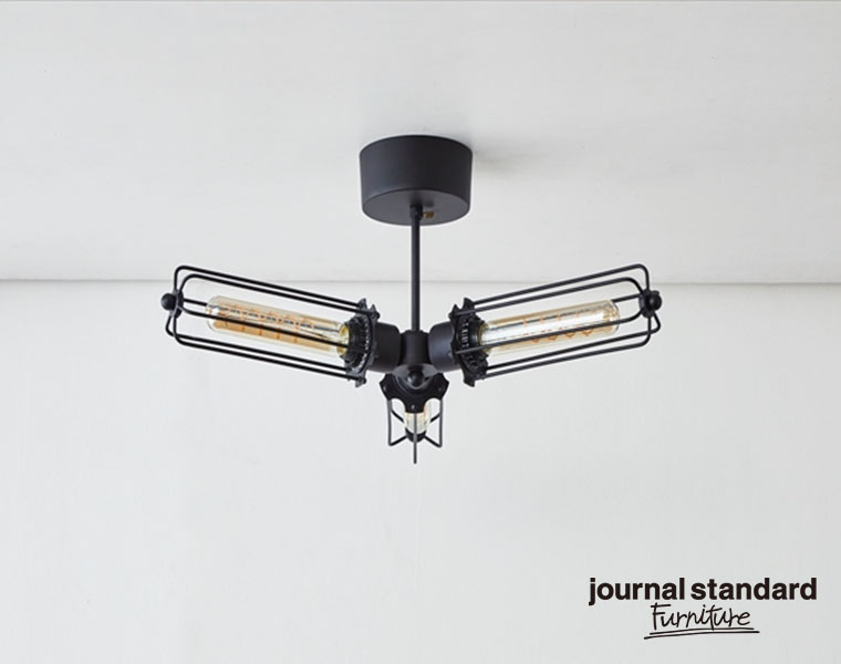 journal standard Furniture ジャーナルスタンダードファニチャー 家具 WINCHESTER CEILING LIGHT3 ウィンチェスターシーリングライト3