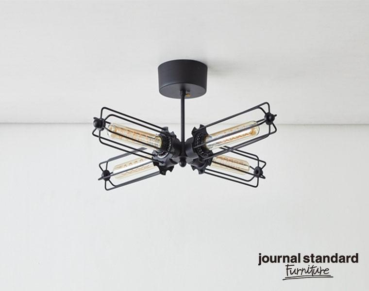 journal standard Furniture ジャーナルスタンダードファニチャー WINCHESTER CEILING LIGHT4 ウィンチェスターシーリングライト4