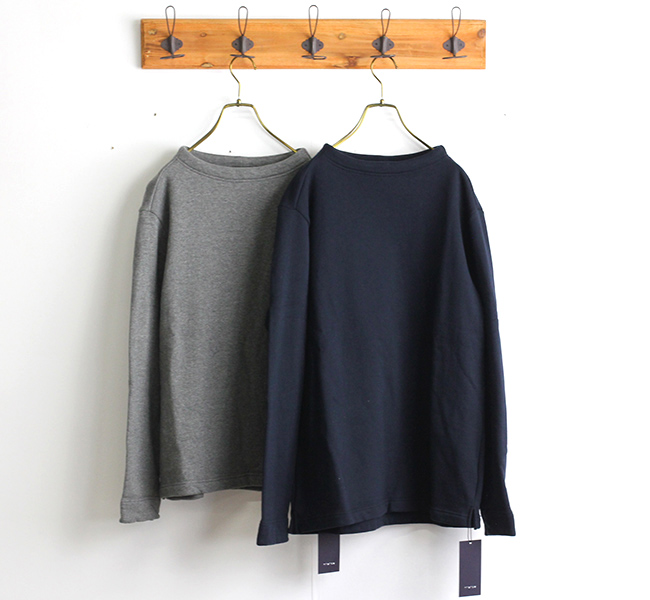 SALE20%OFF // nisica ニシカ ガンジーネックカットソー スウェット
