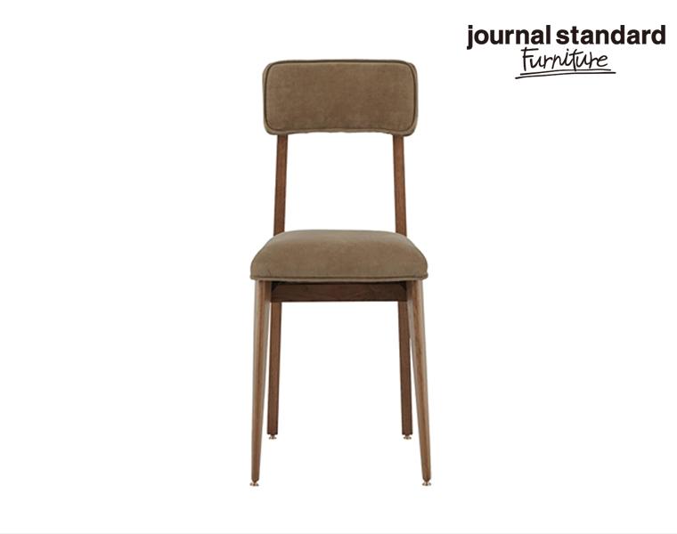 journal standard Furniture ジャーナルスタンダードファニチャー 家具 CHRYSTIE CHAIR WOOD BEIGE クリスティーチェアウッド ベージュ