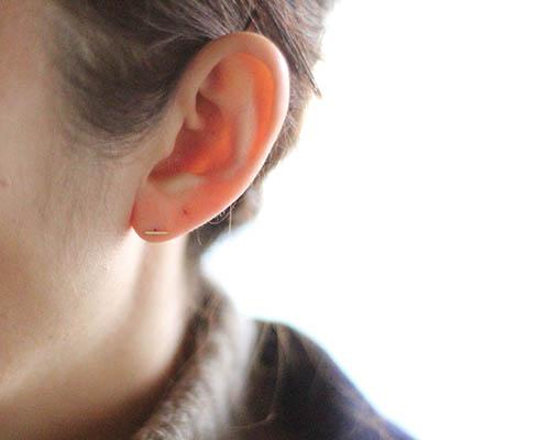 Short Staple Earring Kathleen Whitaker By Source
