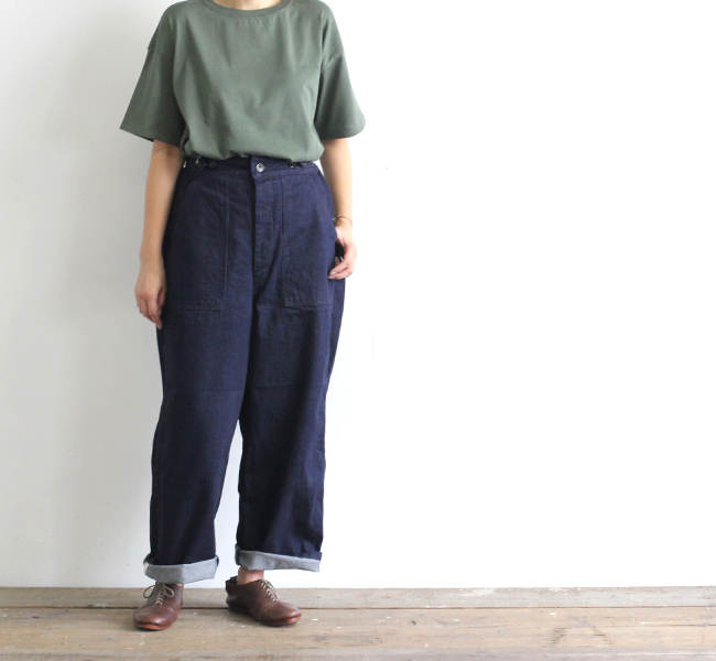 ordinary fits オーディナリーフィッツ レディース  JAMES PANTS one wash ジェームズパンツ ワンウォッシュ OF-P045OW