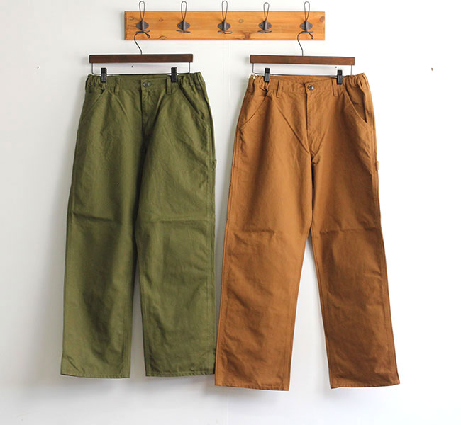 SALE20%OFF// ordinary fits オーディナリーフィッツ ユニセックス RELAX PAINTER PANTS OF-P059