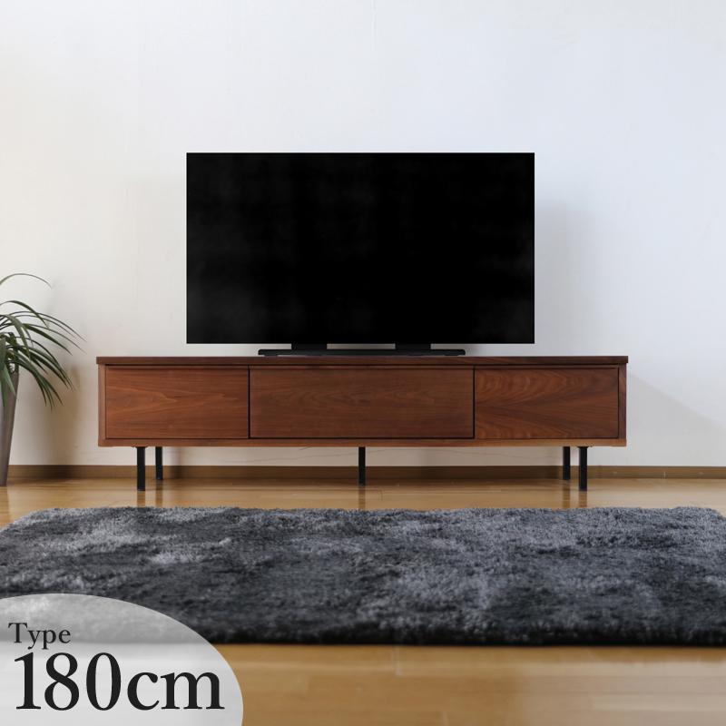商品名| BBI テレビボード 幅 180cmカラー| ウォールナット ブラウン / オーク ナチュラルサイズ| 約幅 180 奥行42 高さ46cm生産国| 国産 日本製北欧ローボード スチール脚テレビ台国産テレビ台 完成品 北欧 テレビラック