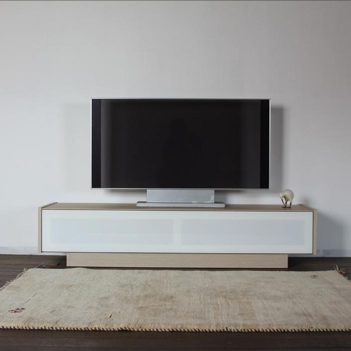 ENT テレビ台 175cm テレビボード ローボード 完成品レインクラウド オーク 色 木目 グレージュ 幅 175 奥行44.5 高さ38cm国産 日本製木製 TV台 北欧 スリム 薄型 リビング収納 TVボード