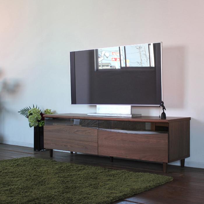 商品名| ESL-R テレビ台 160cm テレビボード ローボード 北欧 完成品カラー| ブラウン色 ウォールナットサイズ| 幅 160 奥44.5 高さ48.25cm生産国| 国産 日本製シンプル 北欧ローボード 収納付き 国産テレビ台 160センチ
