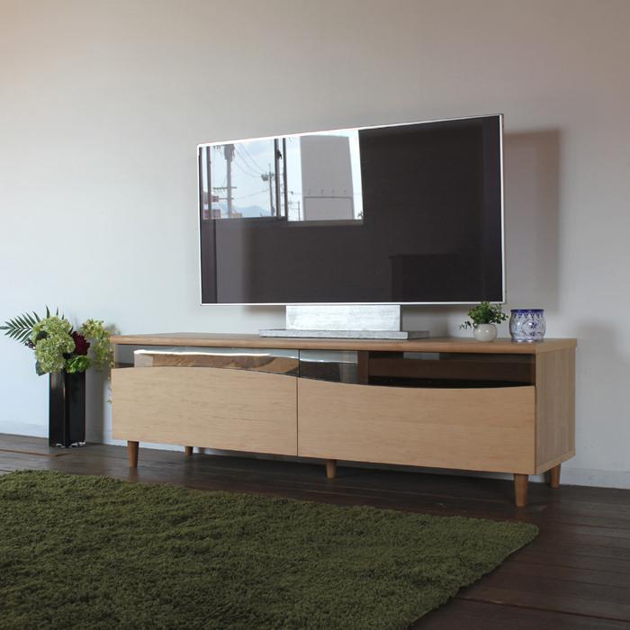 商品名| ESL-R テレビ台 130cm テレビボード ローボード 北欧 完成品カラー| ナチュラル メープルサイズ| 幅 130 奥44.5 高さ48.25cm生産国| 国産 日本製シンプル 北欧ローボード 収納付き 国産テレビ台 130センチ