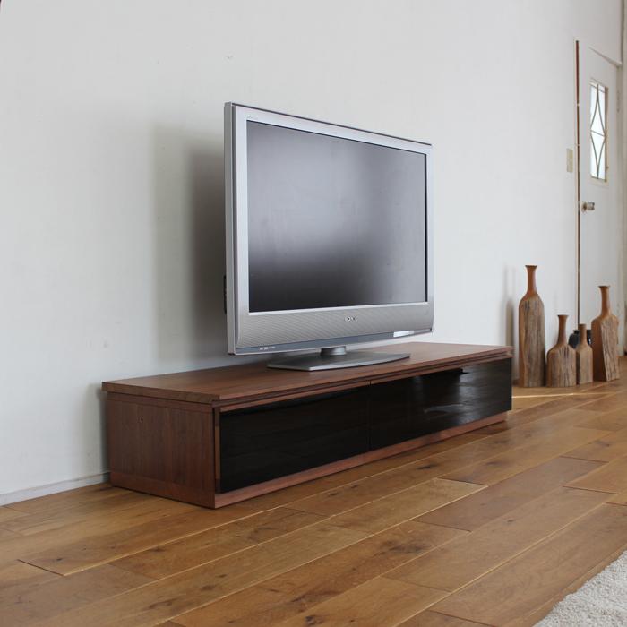 【限定1台限り】商品名  LINK テレビ台 150cm テレビボード ローボードカラー  ブラウン ウォールナット柄サイズ  幅 150 ×奥行42×高さ26cm生産国  国産 日本製北欧ローボード ロータイプテレビ台 国産テレビ台 完成品 北欧 テレビラック