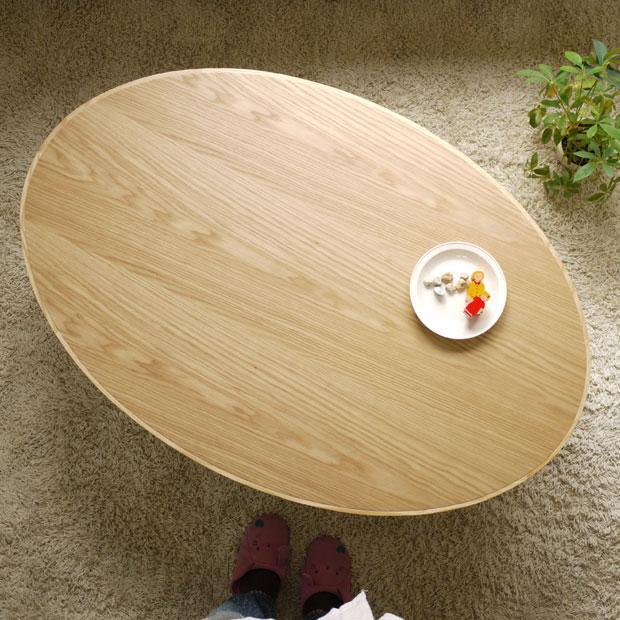 ・スタンド OV120 楕円形 こたつ テーブル ・お好みに合わせて脚の位置を替えれます・ハの字脚 十字脚・ナラ材のかわいいコタツ ・幅120cm オーバル形コタツ・家具調 こたつ おしゃれ ・北欧 モダンデザイン 日本製 だ円 座卓 和モダン