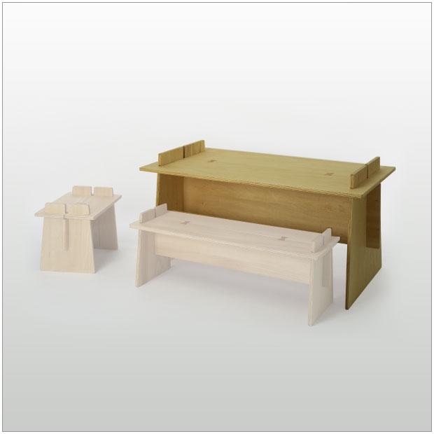 ・ジュンタ キッズデスク・デザイナーズ ブランド品・シンプルで北欧モダンなグッドデザイン・組立式の机 子供家具・送料無料