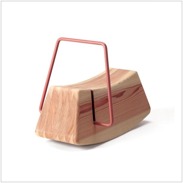 【 受注生産品 】・テツボ もくば・デザイナーズ ブランド品・シンプルで北欧モダンなグッドデザイン・子供用家具、乗り物・木製おもちゃ、木馬・かわいいキッズインテリア・送料無料