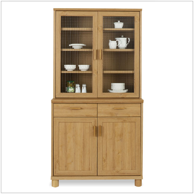 The Bavera K900h Dining Board And Simple Scandinavian Modern Natural Country Style Kitchen Storage Cabinets