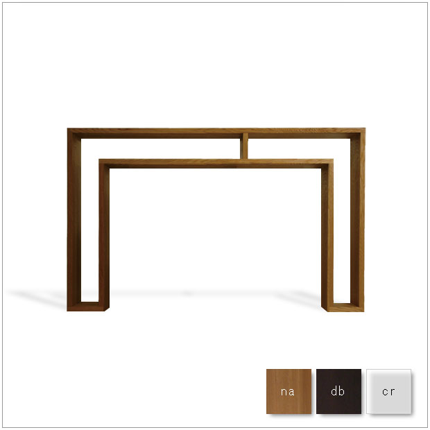 ・SHOJI - ラージ コンソール・デザイナーズ ブランド品・シンプルで北欧モダンなグッドデザイン・シェルフ、収納棚、テーブル・送料無料