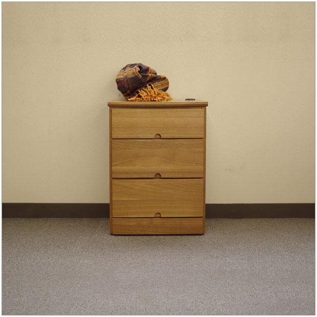 ・oji チェスト・北欧ナチュラルレトロモダンデザイン・木製サイドチェストナイトテーブル・引き出し収納付き チェスト 木製 袖