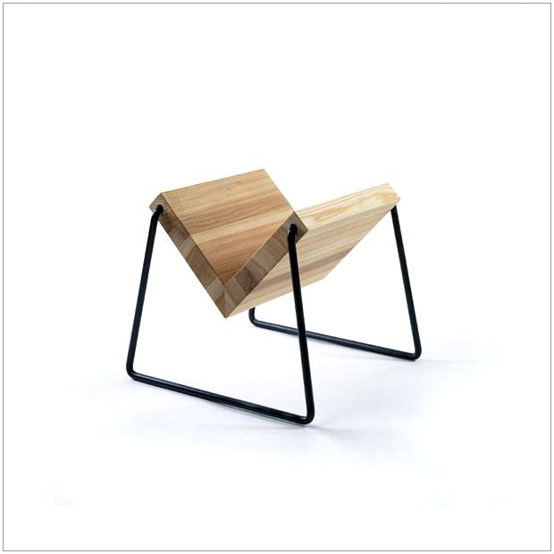 【 受注生産品 】・テツボブックスタンド・デザイナーズ ブランド品・シンプルで北欧モダンなグッドデザイン・送料無料