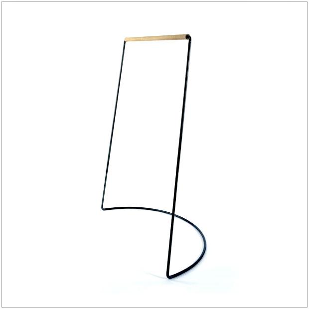 【 受注生産品 】・テツボ曲脚ハンガー・デザイナーズ ブランド品・シンプルで北欧モダンなグッドデザイン・送料無料
