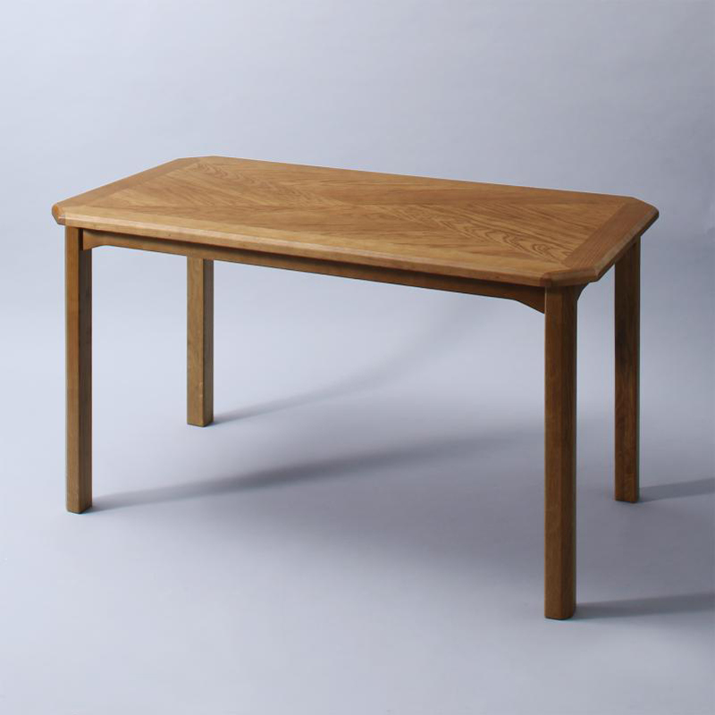 OLDNEW【DRD】ダイニングテーブルヴィンテージデザインテーブル 約幅130 奥行70 高さ70cmオーク材海外インテリア 北欧 モダン おしゃれ