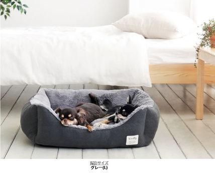 ペットベッド カドラー Lサイズ 猫用 ペットソファ 新作入荷 全商品オープニング価格 ペット用品 ペット用 グッズ ペットクッション 猫ベッド 犬ベッド L リーフペットクッション ペットベット 猫 犬 ベット ねこ ソファ woolly ベッド あったか