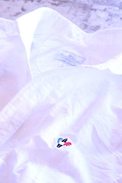 Arvor Maree(アルヴォマレー)SAILOR L/S OXFORD SHIRT WHITE【Men's】