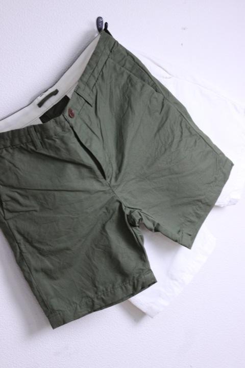【SUMMER SALE】STILL BY HAND(スティルバイハンド)綿麻ベーシックショートパンツ 2color【Men's】