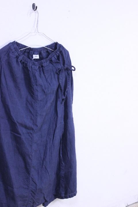 Armen(アーメン)リネン ラップキュロットパンツ NAM1731LP 2color 2019'S/S【Lady's】