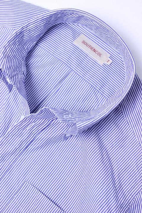 SOUTIENCOL(スティアンコル) Sanfrancisco 2014 国産スーピマコットン Lonst B/D Shirts【Men's】