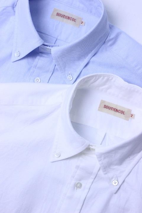 SOUTIENCOL(スティアンコル) Sanfrancisco 2014 Supima OXFORD 定番B/D Shirts【Men's】