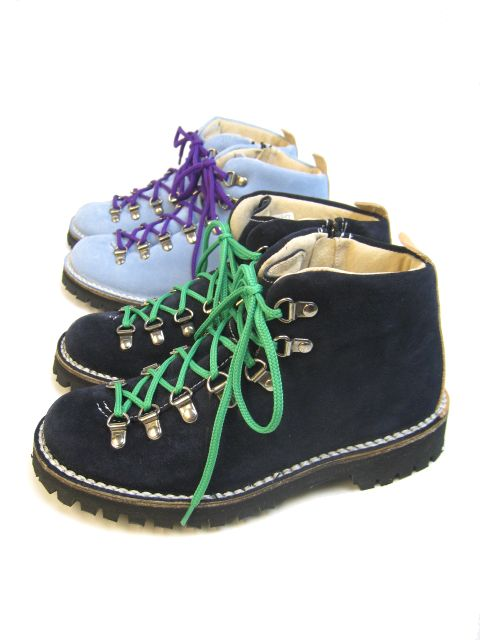 【SALE】CEBO(セボ) NEW MOUNTAIN BOOTS NAVY/SAXE SUEDE 【Lady's】
