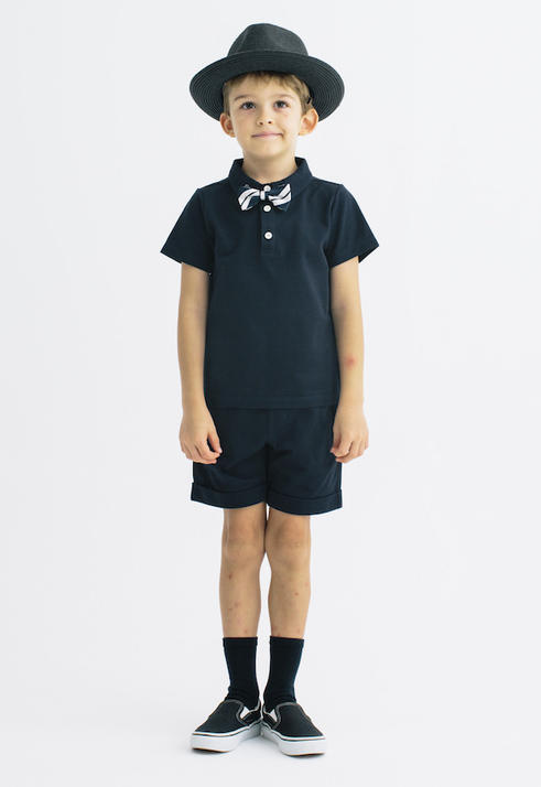 【SALE30%OFF!!】SMOOTHY(スムージー) カノコセットアップ 【NAVY/NAVY】 [01SETUP-11]【100-130cm】