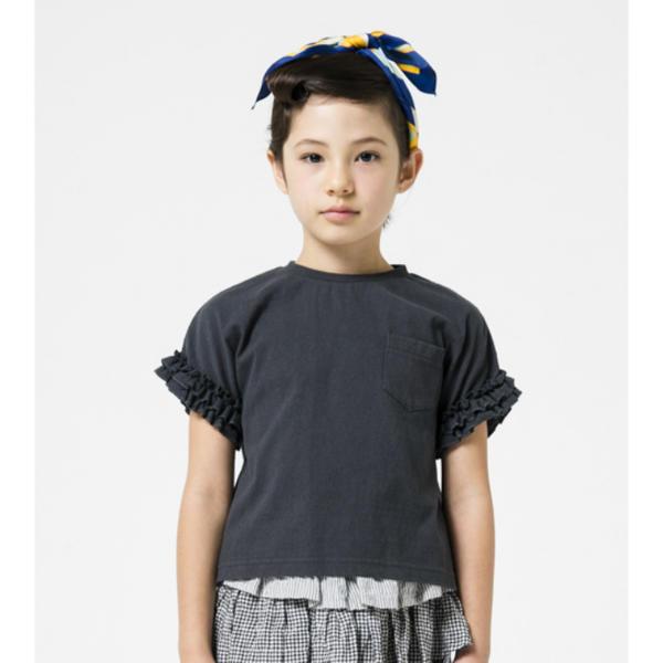 激安格安割引情報満載 子供服 キッズ black Tシャツ SALE50%OFF 毎日激安特売で 営業中です HIGHKING ハイキング holly sleeve 110 118110281 short 120 90 100