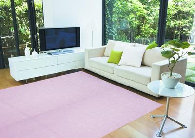 """折疊式地毯""""不同尋常""""江戶 6 榻榻米 (約 261 × 352 釐米)"""