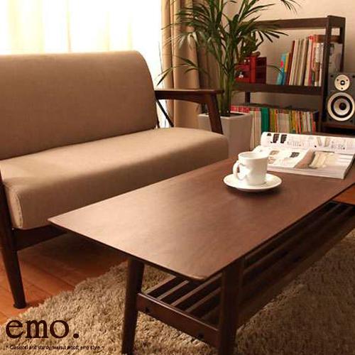 【ポイント2倍 送料無料】テーブル てーぶる センターテーブル ローテーブル 折りたたみテーブル コーヒーテーブル 折り畳み 折りたたみ デスク 木製 ウッド 北欧 インテリア おしゃれ 【ギフト】[ emo/Living Table エモリビングテーブル ]