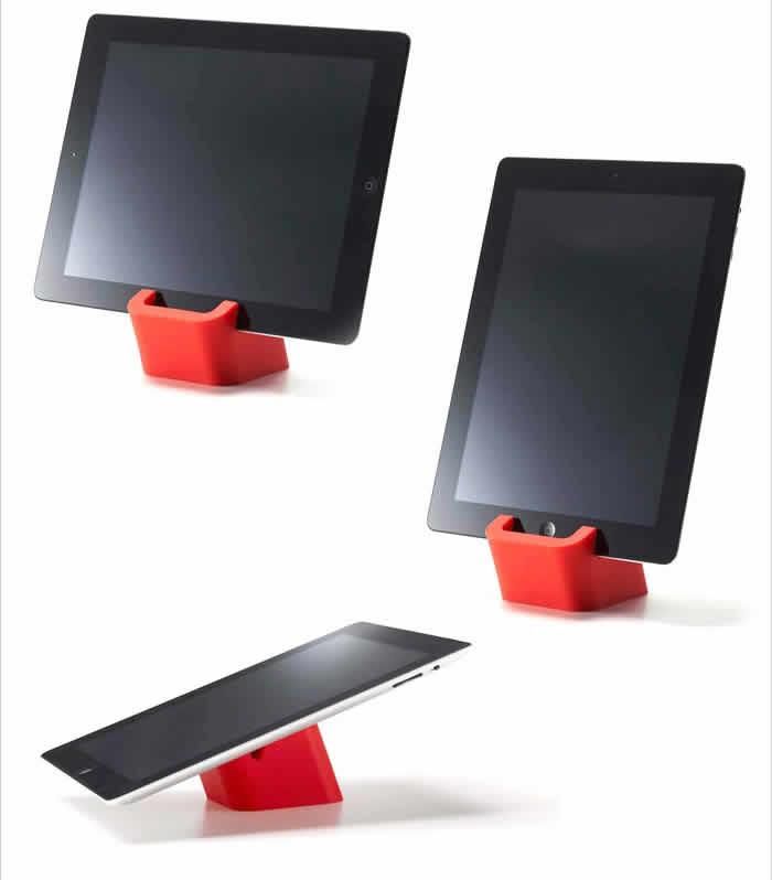 iPadスタンド タブレットスタンド タブレット立て 【ポイント10倍】 おしゃれ 北欧 iPad iPad Air iPad mini スマホスタンド タブレットPCスタンド アイパッド スマホ立て 山崎実業 yamazaki シンプル 【ギフト】[ タブレットスタンド スクエア ]