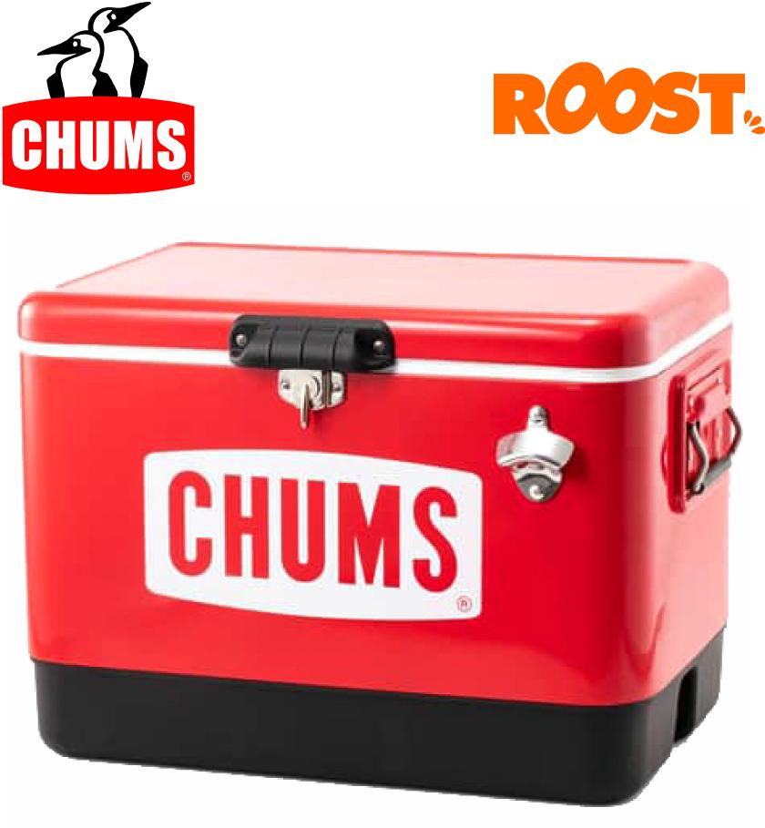 CHUMS チャムス スチールクーラーボックス54L アウトドア キャンプ用品 CHUMS Steel Cooler Box 54L CH62-1283