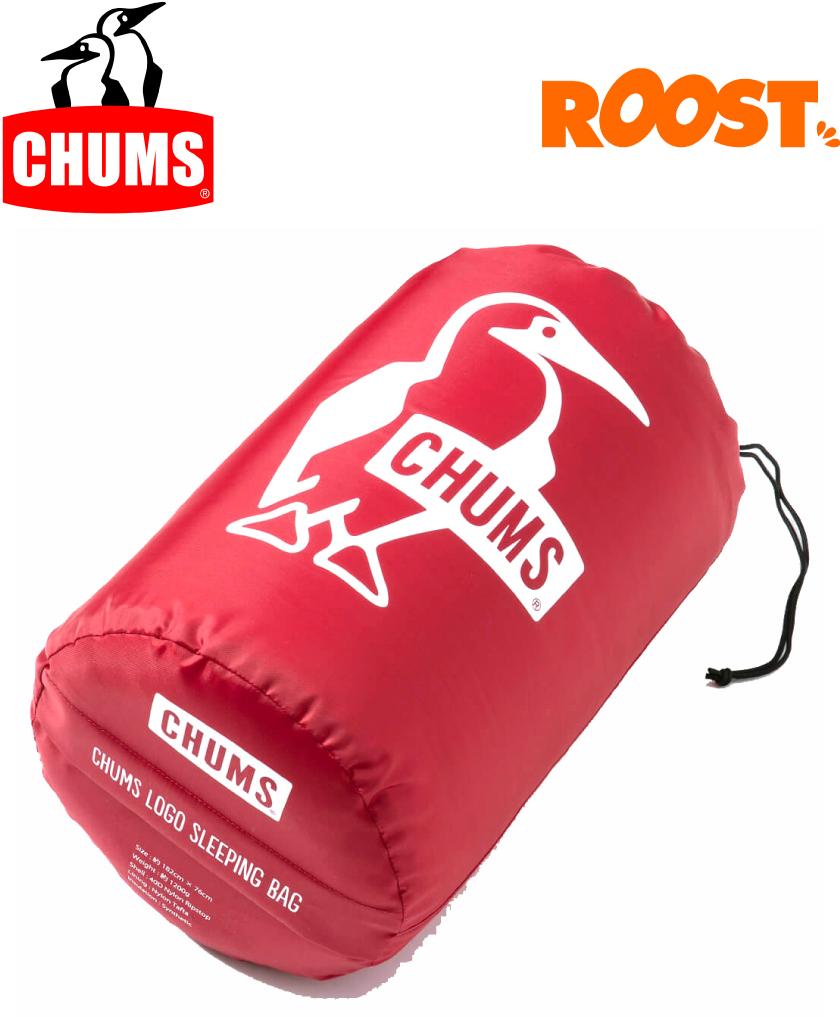 CHUMS チャムス ロゴ Sleeping Bag スリーピングバッグ 寝袋 CH09-1147