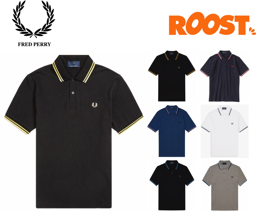 FRED PERRY フレッドペリー ポロシャツ メンズ M12 TWIN TIPPED FRED PERRY SHIRT 2020春夏 日本正規品