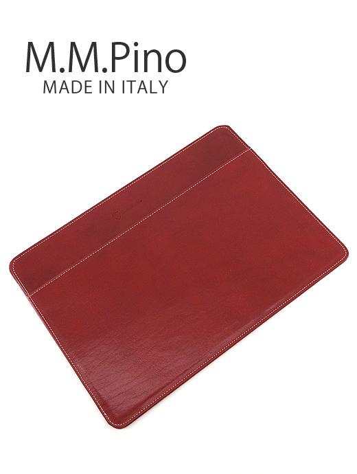 別注A4レザードキュメントケース【M.M.PINO/エム・エム・ピーノ】mmp341603-レッド