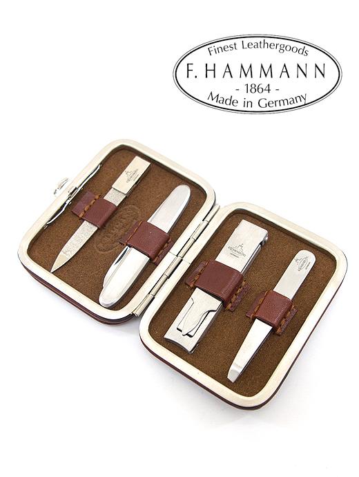 グルーミングセット【F.HAMMANN/ハンマン】ham360401-ブラウン