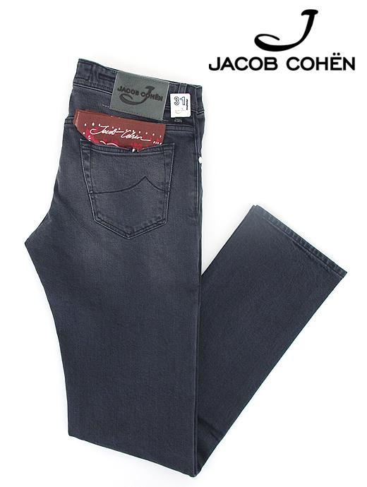ブラックジーンズ/ストレッチデニム/J622 COMFORT【JACOB COHEN/ヤコブコーエン】ja6027006-ブラック