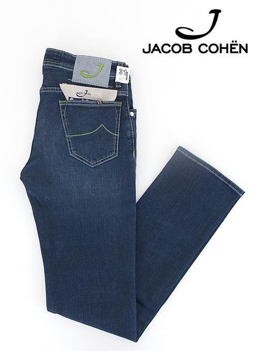 ジーンズ/スーパーストレッチデニム/PW622 COMFORT【JACOB COHEN/ヤコブコーエン】ja6226876-インディゴブルー