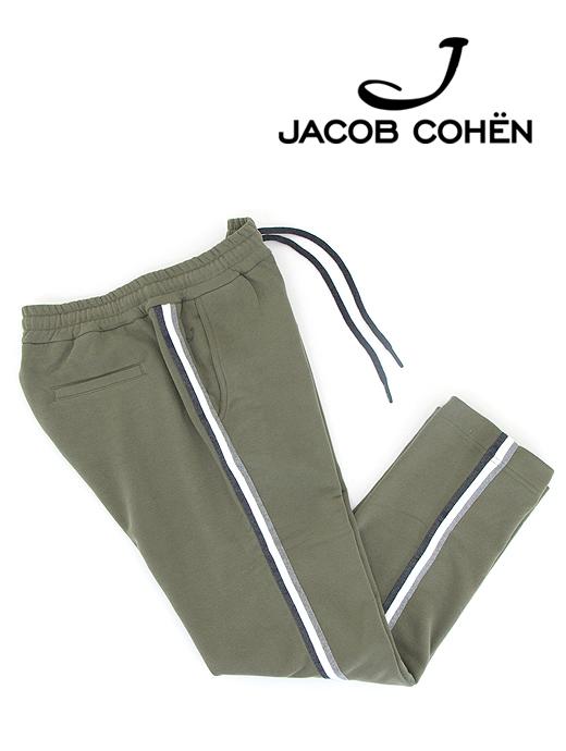 スウェットパンツ/CARL【JACOB COHEN/ヤコブコーエン】ja6513955-オリーブ