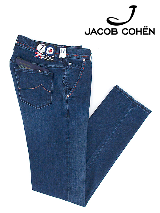 ジーンズ/ストレッチクラボウデニム/香水付き/J613 MOD COMFORT【JACOB COHEN/ヤコブコーエン】ja6016876-インクブルー