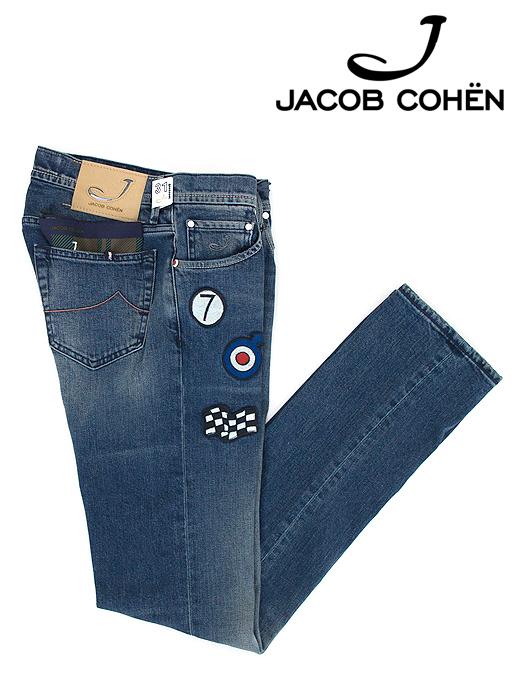ジーンズ/ストレッチクラボウデニム/香水付き/J622 MOD P COMFORT【JACOB COHEN/ヤコブコーエン】ja6030475-ウォッシュドブルー